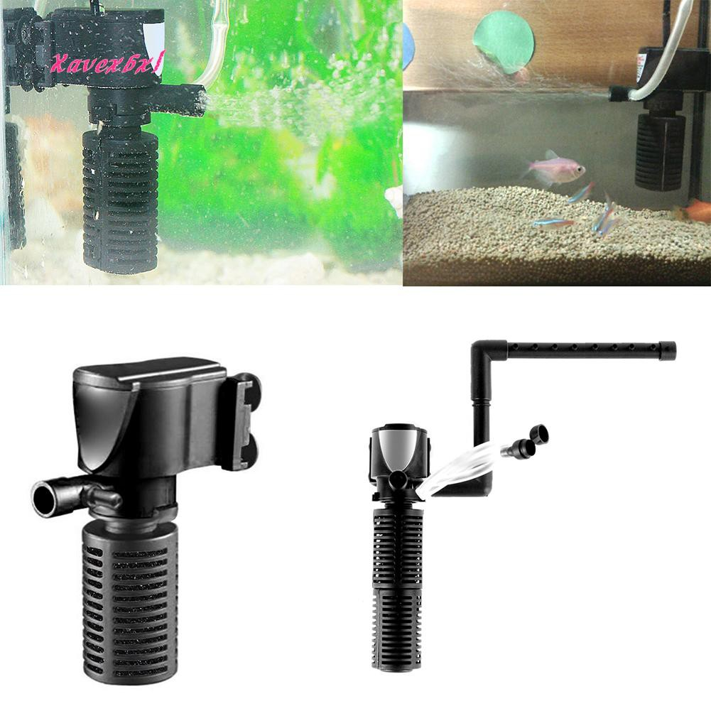 3 in 1 Fish Tank Filter M size Hang-on Power Suspension Oxygen Pump Ultra Quiet | Shopee Philippines