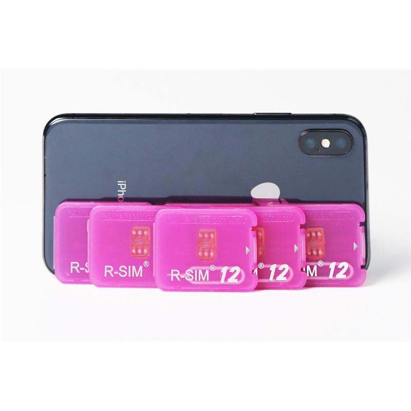 R-SIM12+ iPhone 7/8/8PLUS/ 4G Nano Unlock Cloud Rsim Card | Shopee