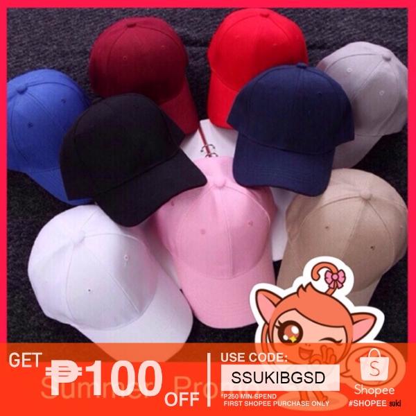 Korea Best selling 12 colors Plain Baseball Cap Union(thick)