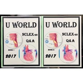 UWorld 2017 2019 NCLEX Review book | Shopee Philippines