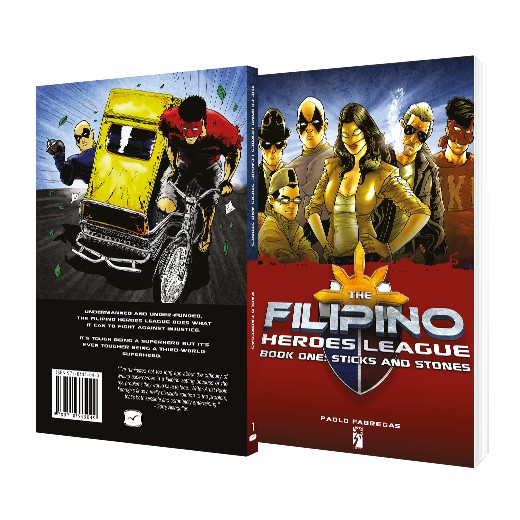 Filipino Heroes League Book One: Sticks and Stones