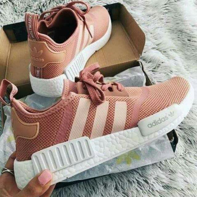 Adidas NMD R1 Salmon Pink Replica | Shopee Philippines