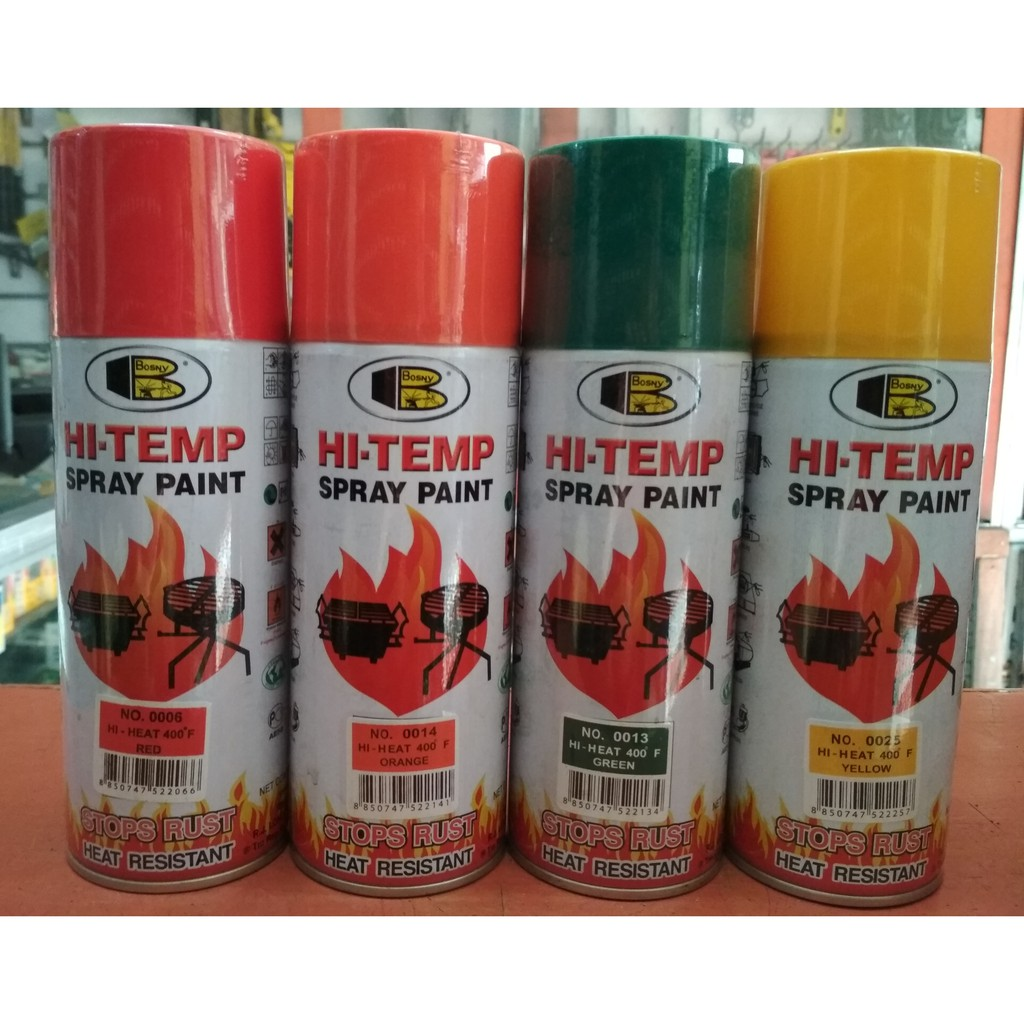 Bosny Hi-Temp Spray Paint | Shopee Philippines