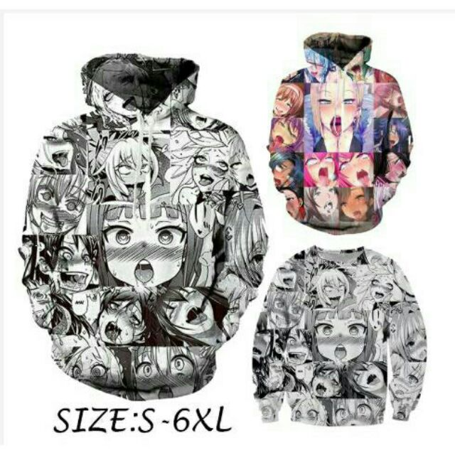 Image result for Ahegao Hoodie