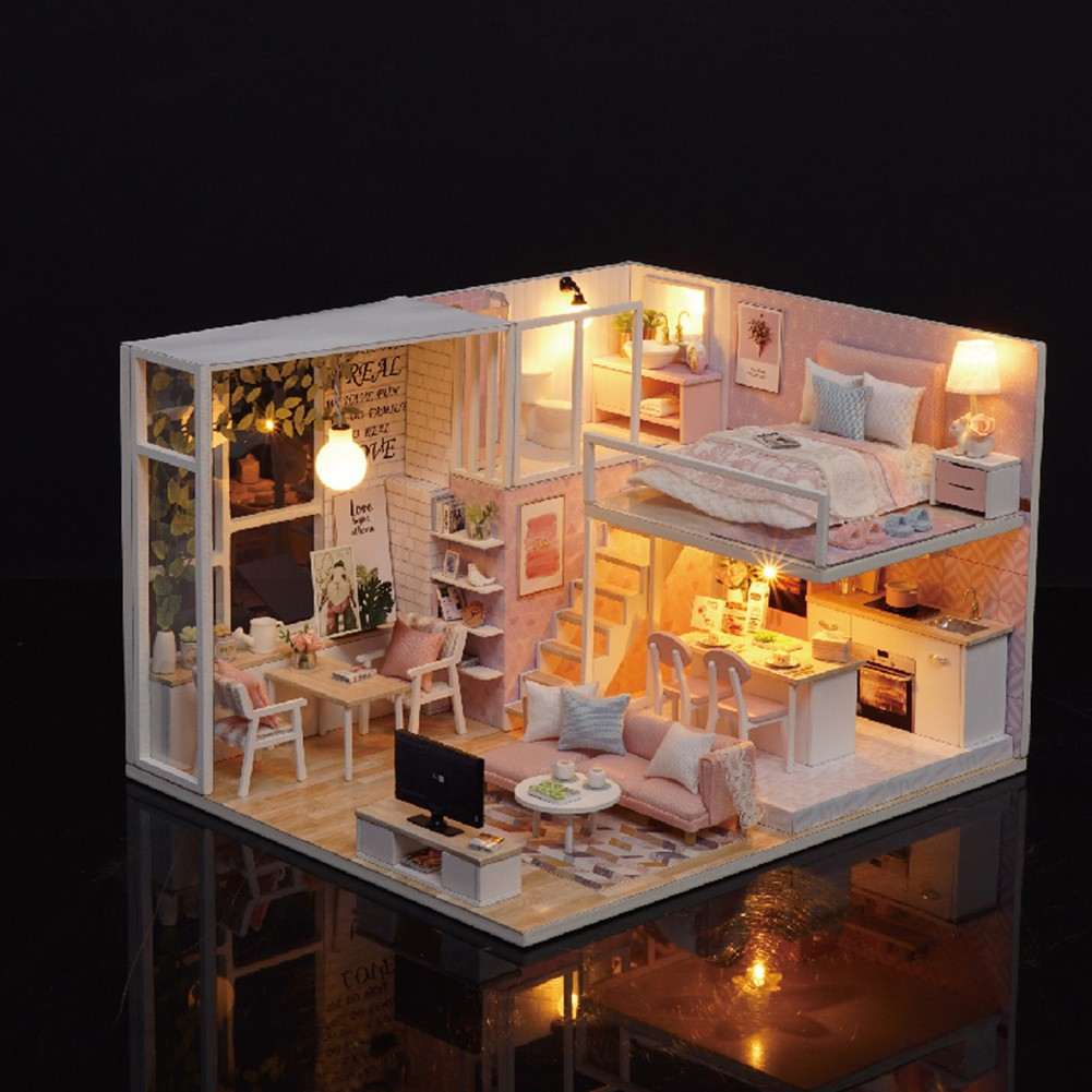 DIY Cottage Hut Small House Doll House Wooden Manual embly on modern house design philippines, elegant house design philippines, small house design philippines,