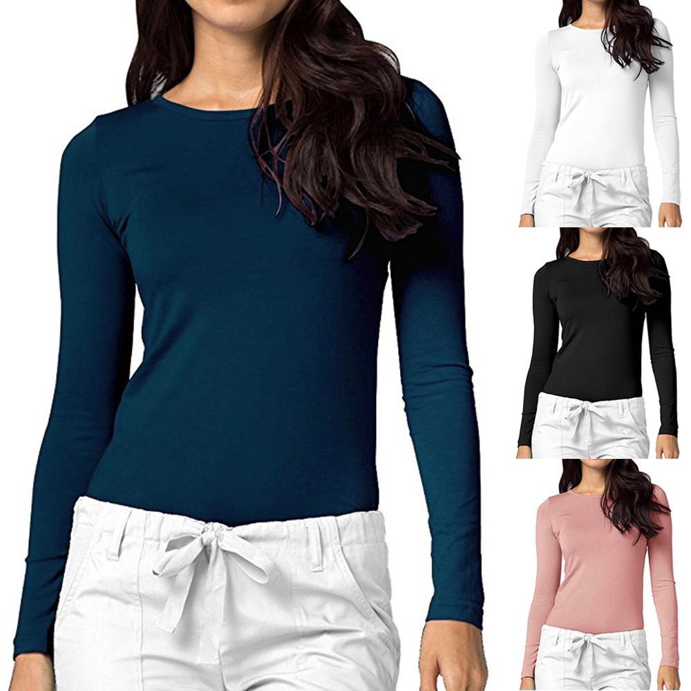 afbe47b51148 Womens Peter Pan Collar Long sleeve Chiffon Shirt | Shopee Philippines
