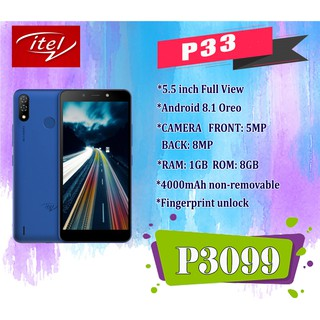 ITEL P33 Plus(100 days replacement)