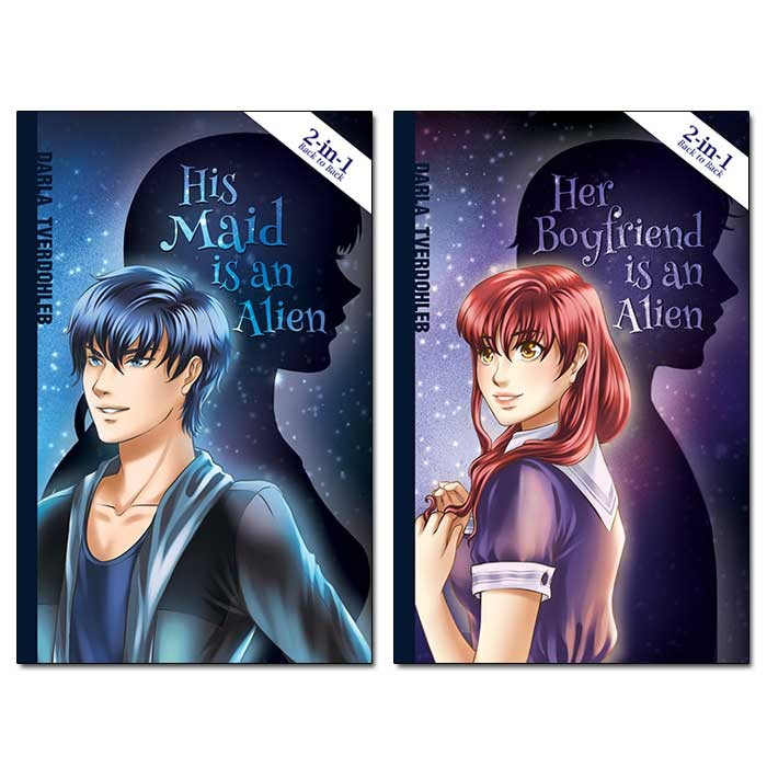 2-in-1 Book: His Maid is an Alien /Her Boyfriend is an Alien