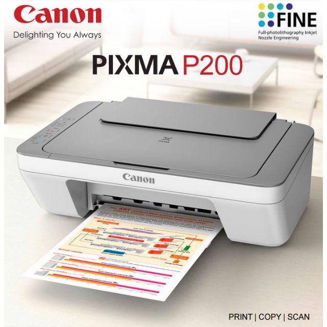 CANON PIXMA P200 DRIVERS FOR WINDOWS MAC