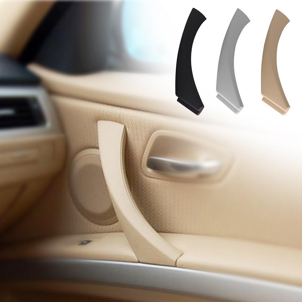 Left side Beige Inner Door Panel Handle Pull Trim Cover for BMW E90 328i