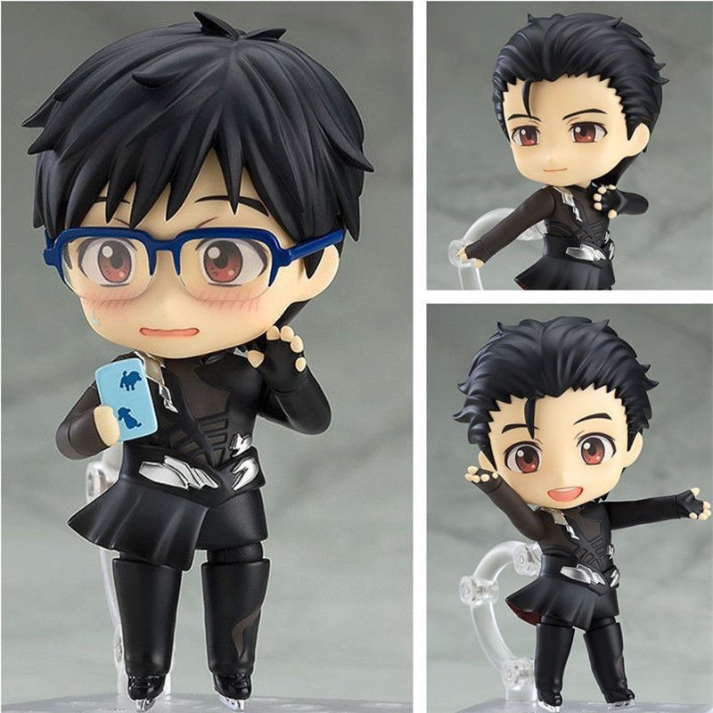 on ICE Katsuki Yuri Skating Limited Anime Figure Figurine Nendoroid 726# YURI!!