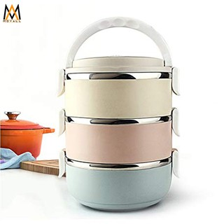 movall Stainless Steel Lunch Box 3 Layer