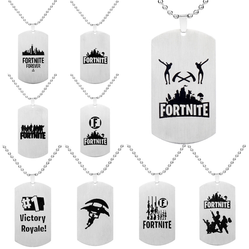 ❤Keychain Game Accessories Fortress Night Fortnite Necklace