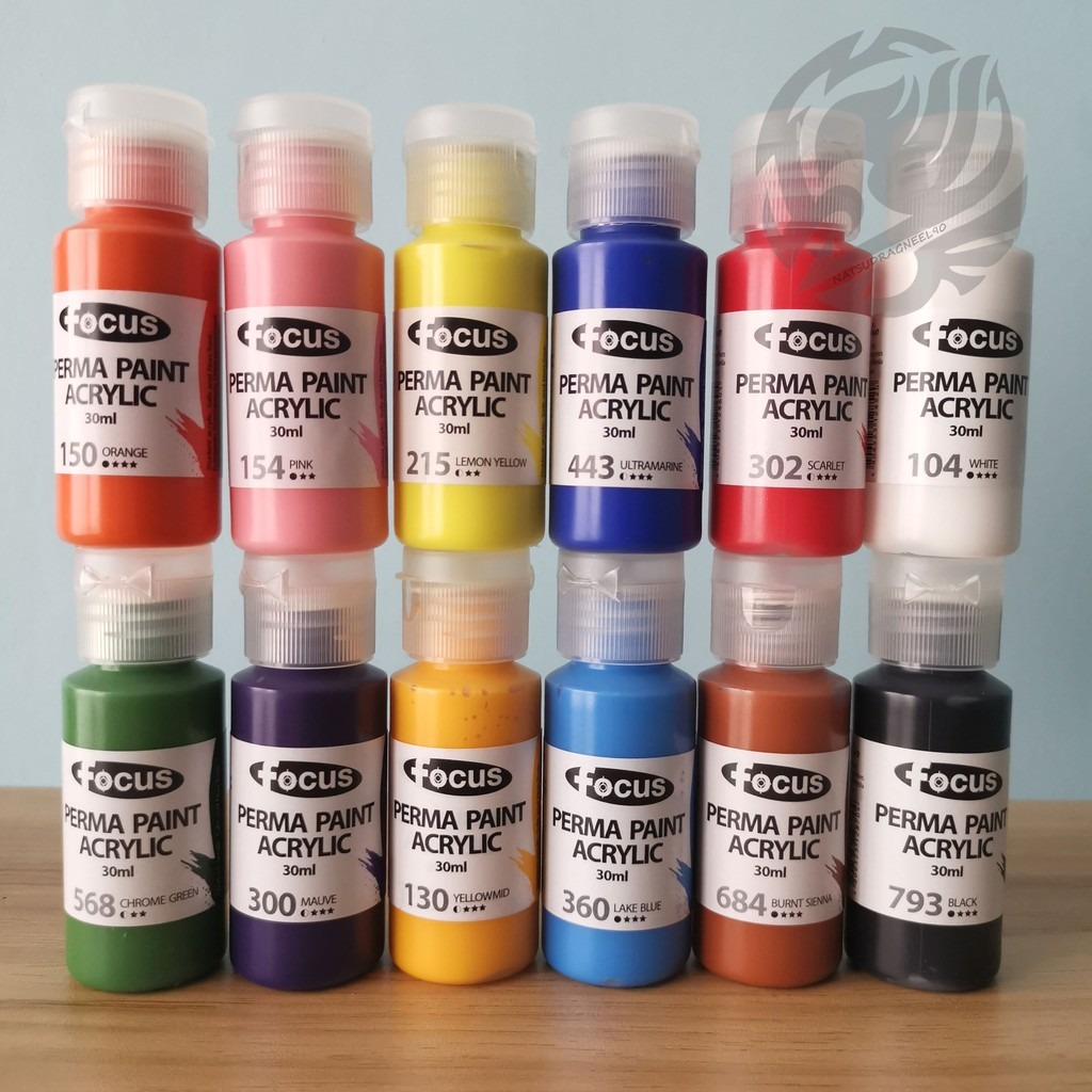 Focus Acrylic Paint 30ml Shopee Philippines