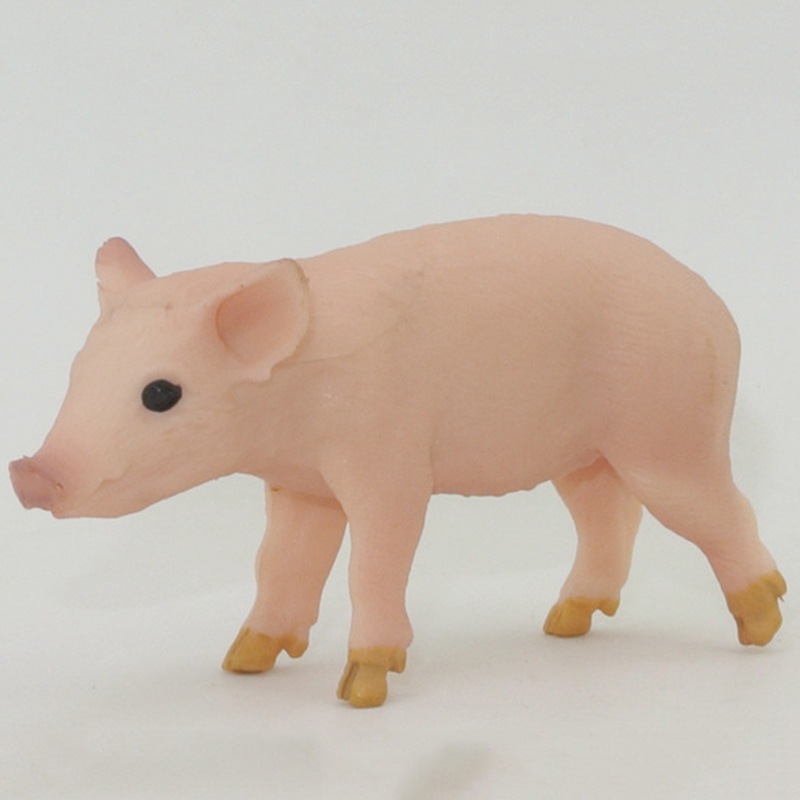 Simulated Pig model Toy Figurine Plastic Kids Lifelike PVC Fashion Durable New