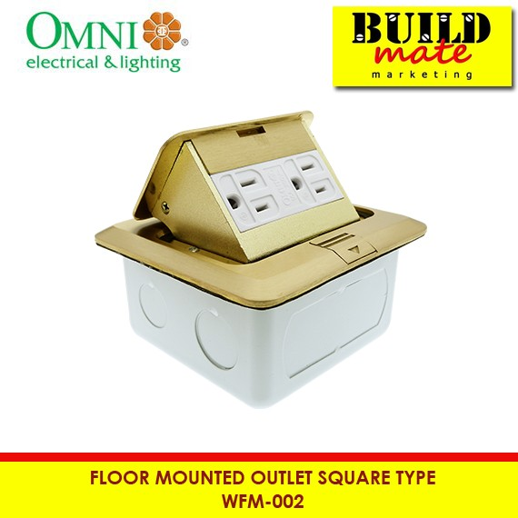 Omni Floor Mounted Outlet Square Wfm 002 Shopee Philippines