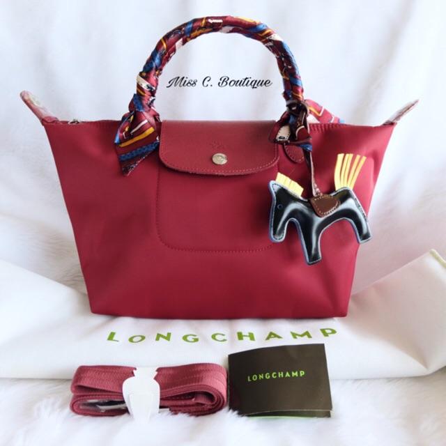 e4c68c64c9c0 Longchamp Made In France Neo Medium - Light Pink