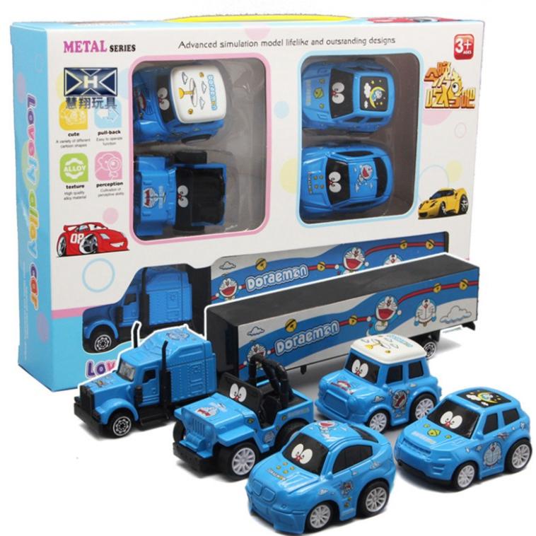 Doraemon Children's Mini Pull Back Alloy Car Model Car Model