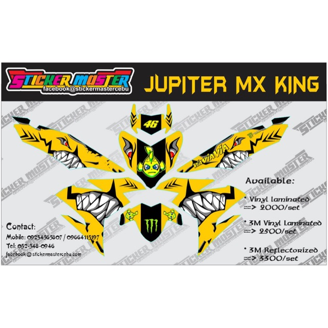 Decals for Sniper MX150