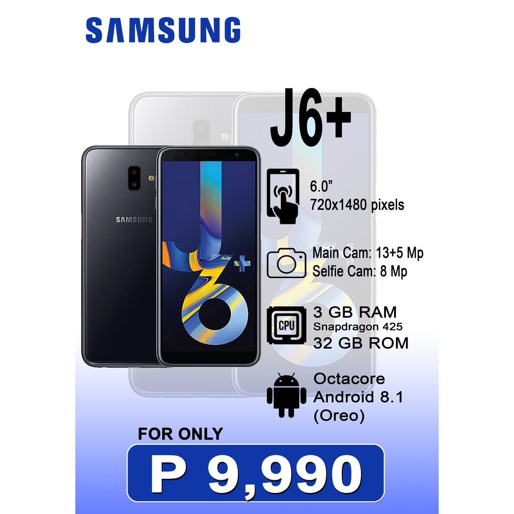 J6 Plus 3Gb RAM samsung 32Gb ROM