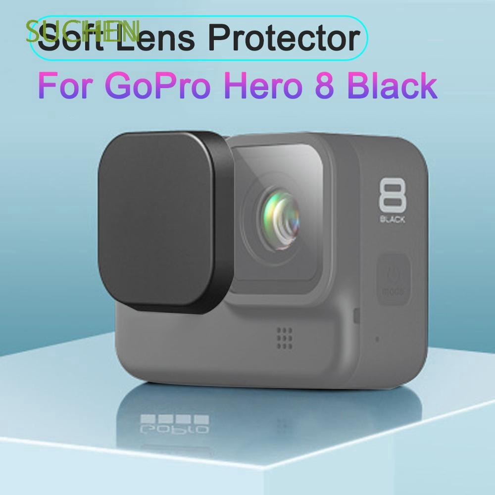 3 Durable Silicone Lens Cap for Xiaomi Yi//GoPro Hero4 3+ Color : Green