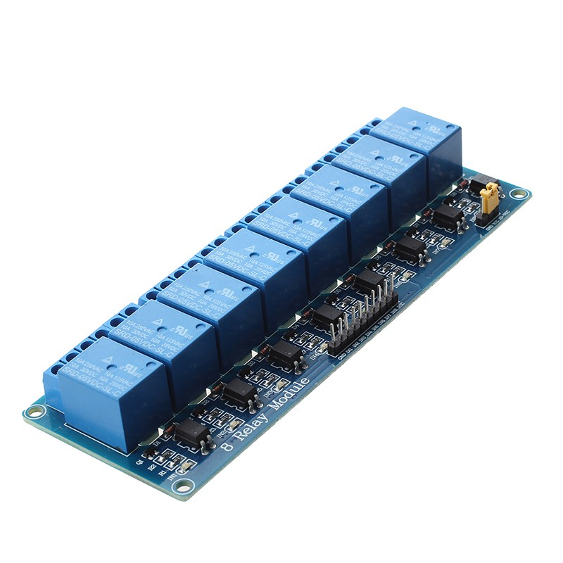 8 Channel DC 5V Relay Shield Module for Arduino Raspberry Pi DSP AVR PIC ARM HC