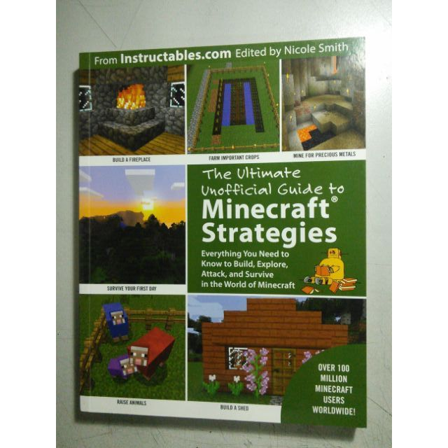 The Ultimate Unofficial Guide to Minecraft Strategies SALE!