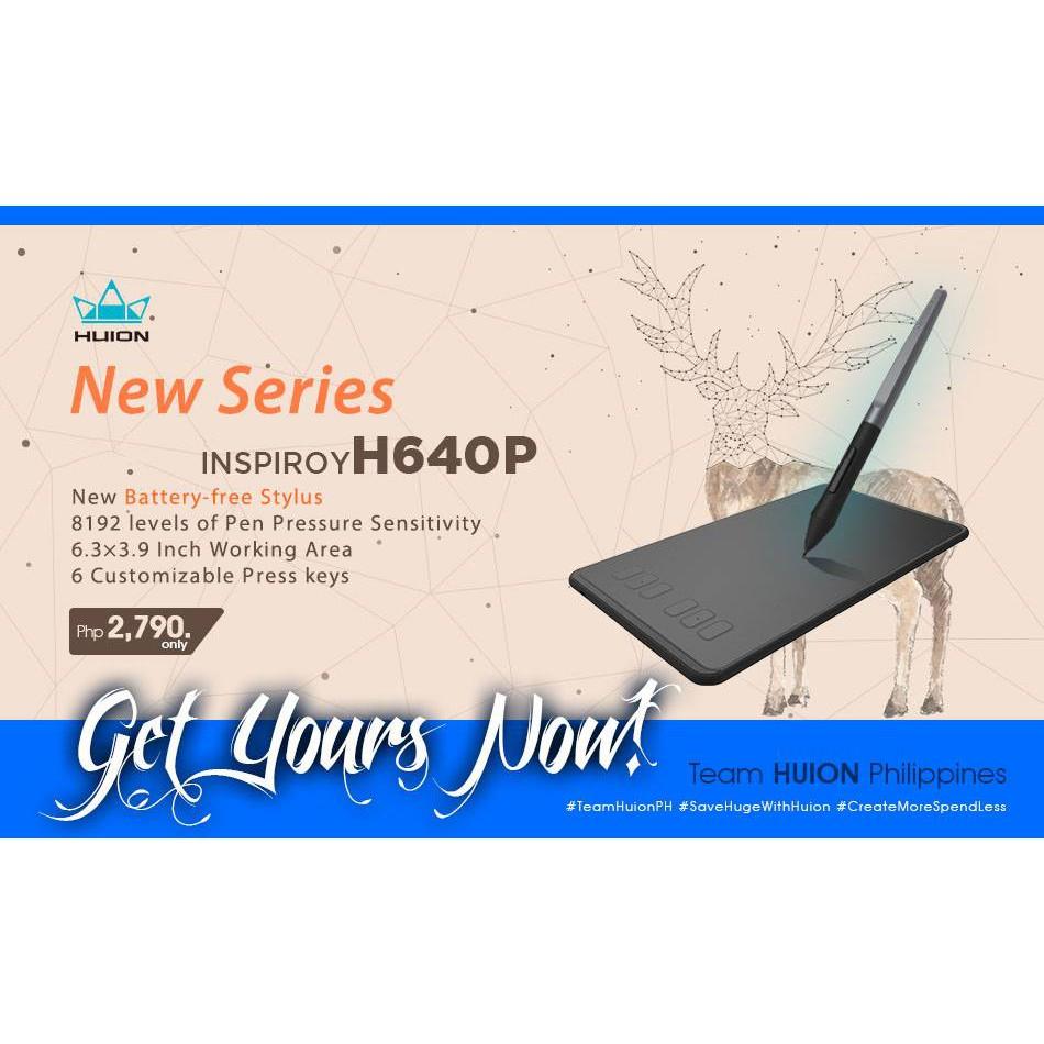 HUION H640P