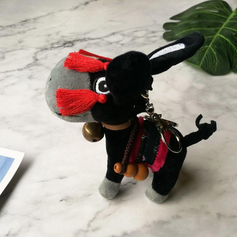 Plush Keychain Doll Grandmaster of Demonic Cultivation Wuxian Small Apple Donkey