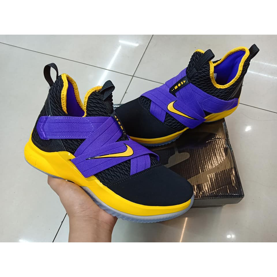 timeless design 92660 3b075 LEBRON SOLDIER 12 LAKERS COLOR