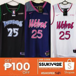 new products 33e16 30385 Nba Jersey Wolves #25 Derrick Rose | Shopee Philippines