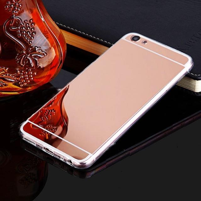 VIVO V5 Lite v5 plus v3 max f1s f3 plus Mirror Metal Case | Shopee Philippines
