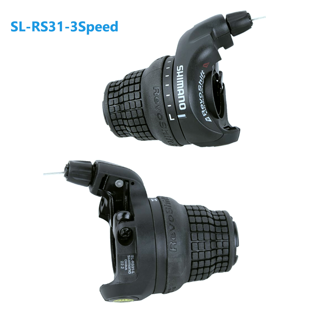 3//7//21 Speed Black New Shimano RevoShift SL-RS31 Twist Grip Shifter