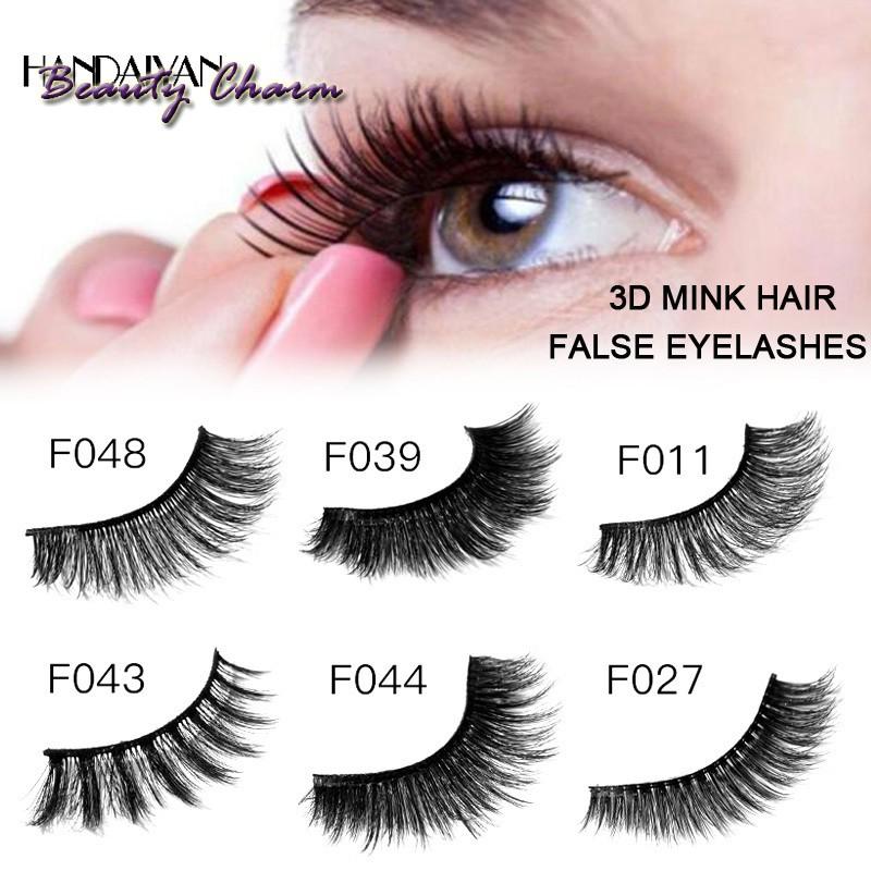 016898e42b8 3 pairs of long mink eyelashes 3D long lasting natural lashes false  eyelashes | Shopee Philippines