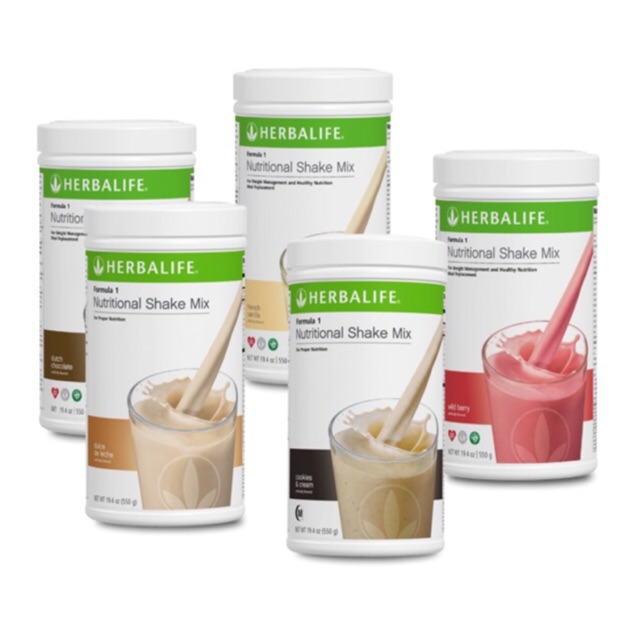 1 canister only herbalife formula 1 nutritional shake mix | shopee