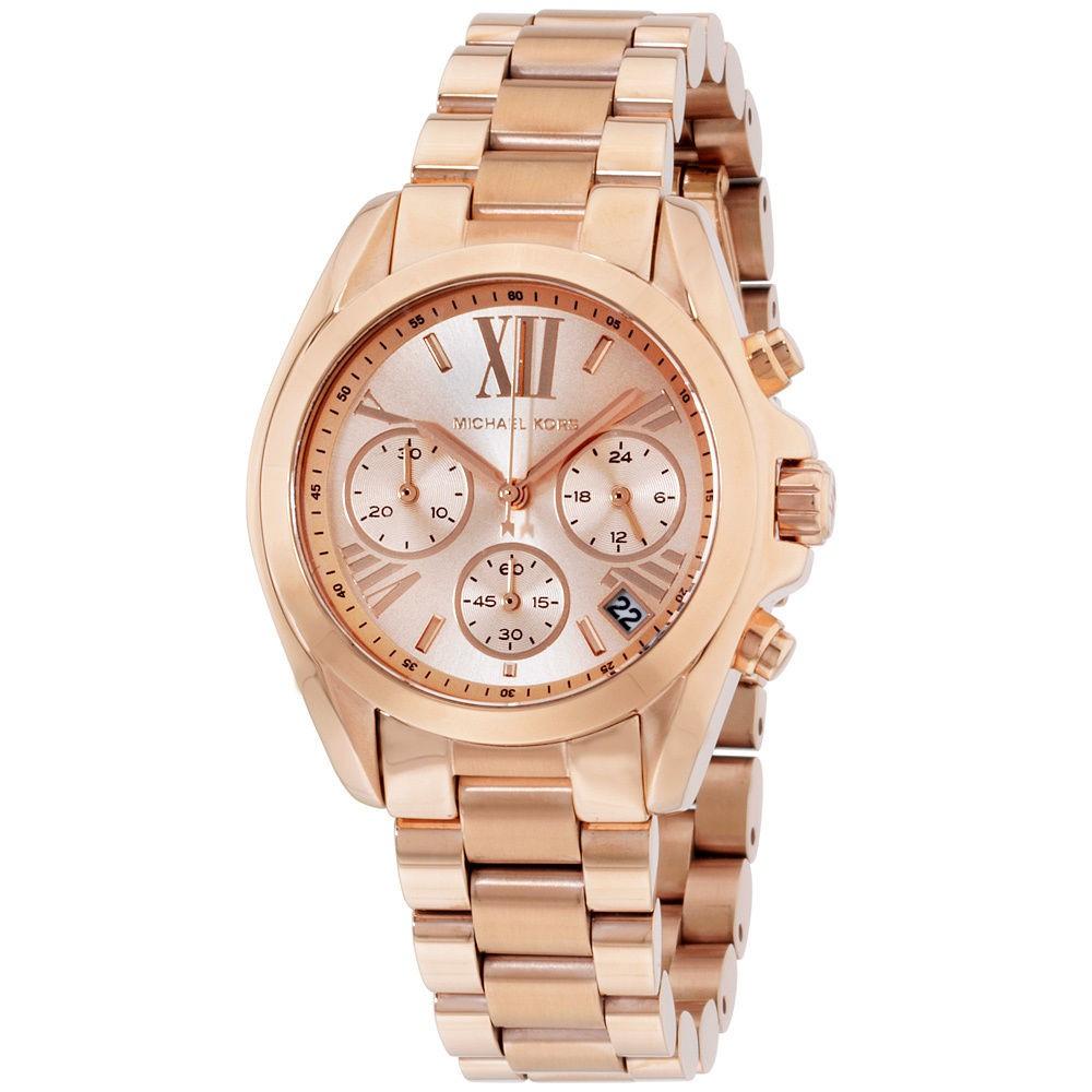 90d6f1b18253 Michael Kors Ladies  Portia Rose Gold Tone Watch MK3640