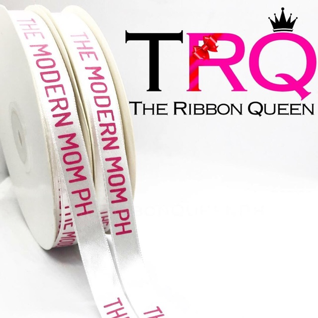 1/2 inch Personalized Ribbons 2 Rolls