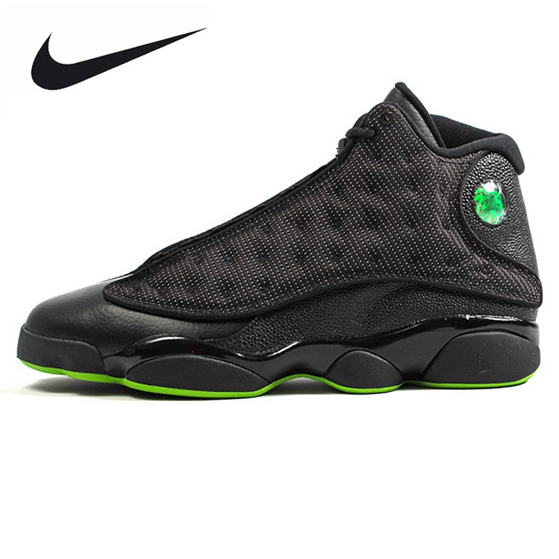 new styles 00241 c9402 AD Nike Air Jordan 13 Bred AJ13 red playoff basketball shoes, 414571-004    Shopee Philippines