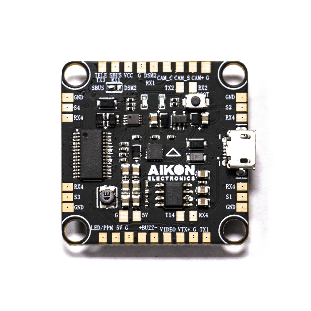 AIKON F4 Betaflight Flight Controller OSD STM32F405 2-6S 30 5*30 5mm for RC  Drone FPV Racing