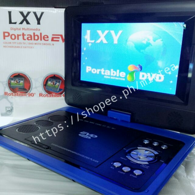 Portable Dvd Player With Built In Tv Tuner Shopee Philippines