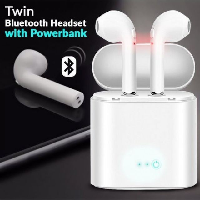 Airpods Wireless Bluetooth Headset Earphones Vivo Oppo I7s Shopee Philippines