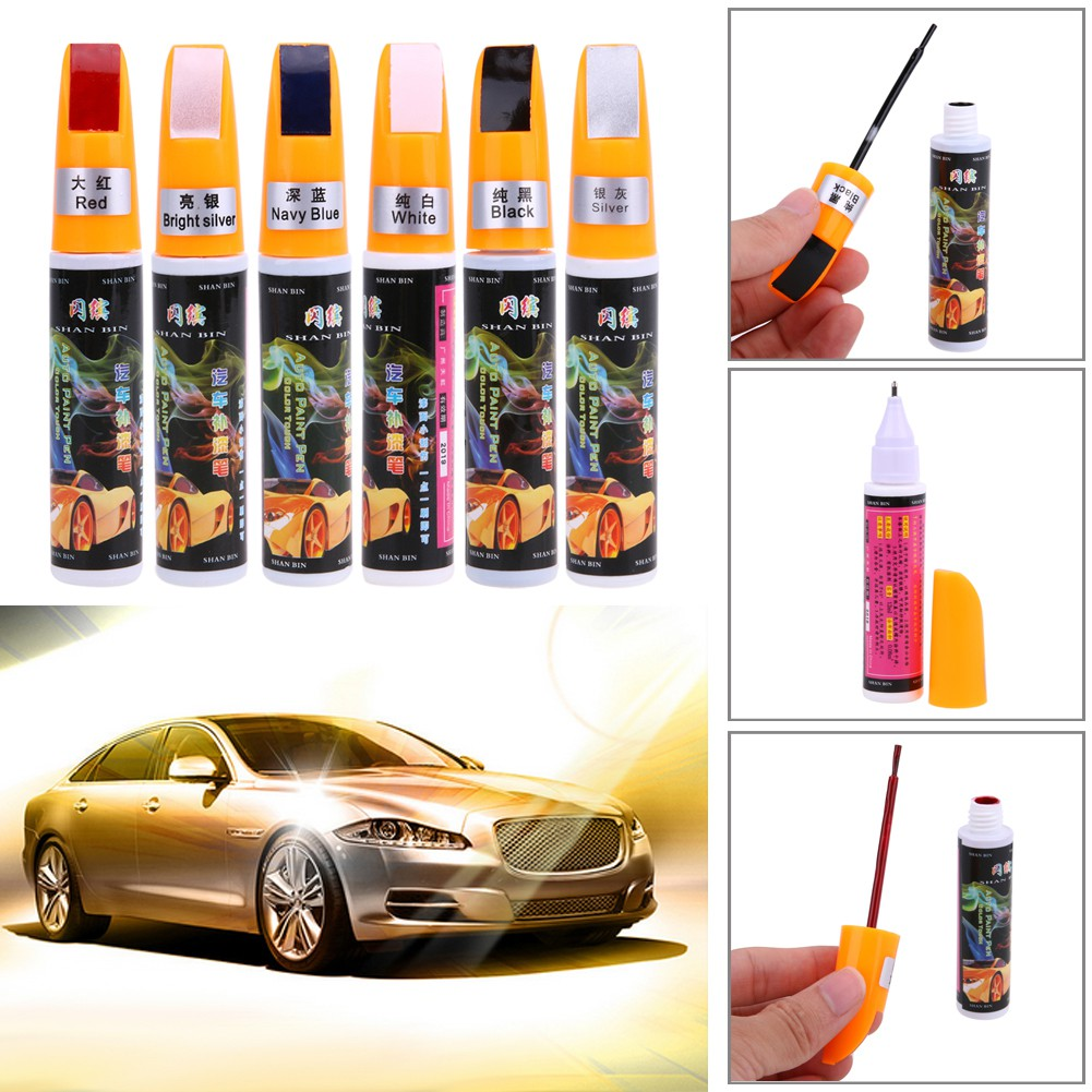 New Wheel Pen Car Wheel Aluminum Alloy Silver Car Rim Renovation Repair Paint Spray Scratch Repair Touch Up Pen Dropshipping Car Washer Automobiles & Motorcycles