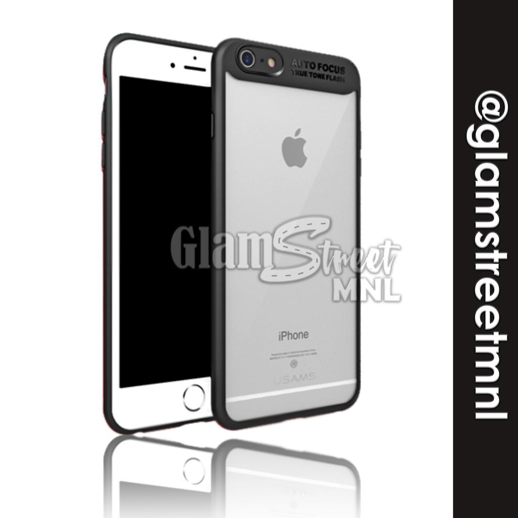 low priced a34e9 3ac62 iPhone 6, 6s, 6+, 6s+ Transparent Case (Auto-Focus)