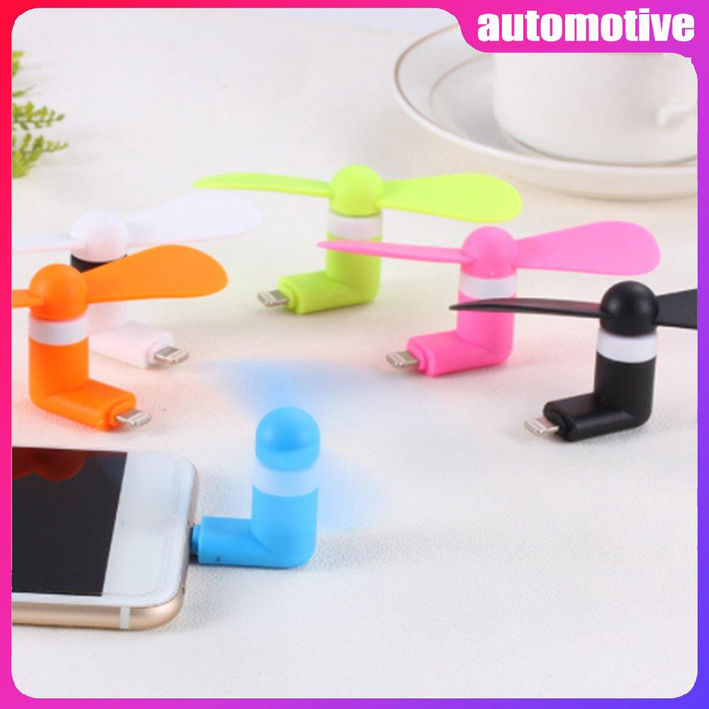 for Android Portable Cool Micro USB Fan 5V 1W Mobile Phone USB ...