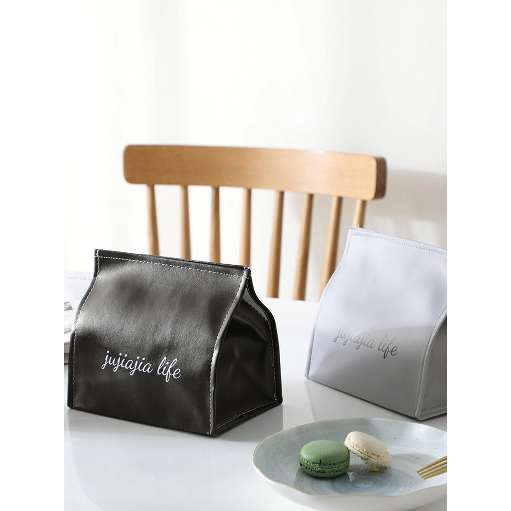 Pu Leather Paper Towel Sets Of Living