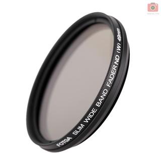 77MM Universal Ultra Slim ND2-400 Neutral Density Camera Filter for Most DSLR Cameras Mugast Camera Neutral Density Filter