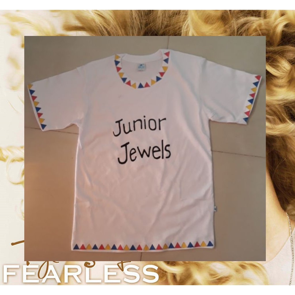 Taylor Swift Junior Jewels Shirt Shopee Philippines