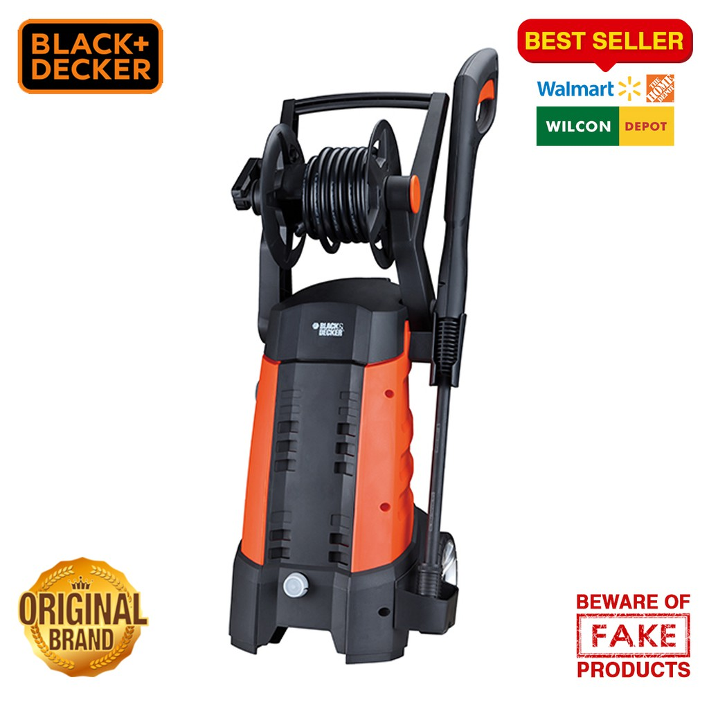 Black and Decker 1800W Compact Pressure Washer