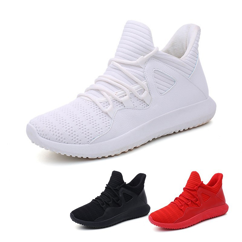 c9d18338754d14 New Men's Running Sneakers Mesh Sports Casual Athletic Shoes   Shopee  Philippines