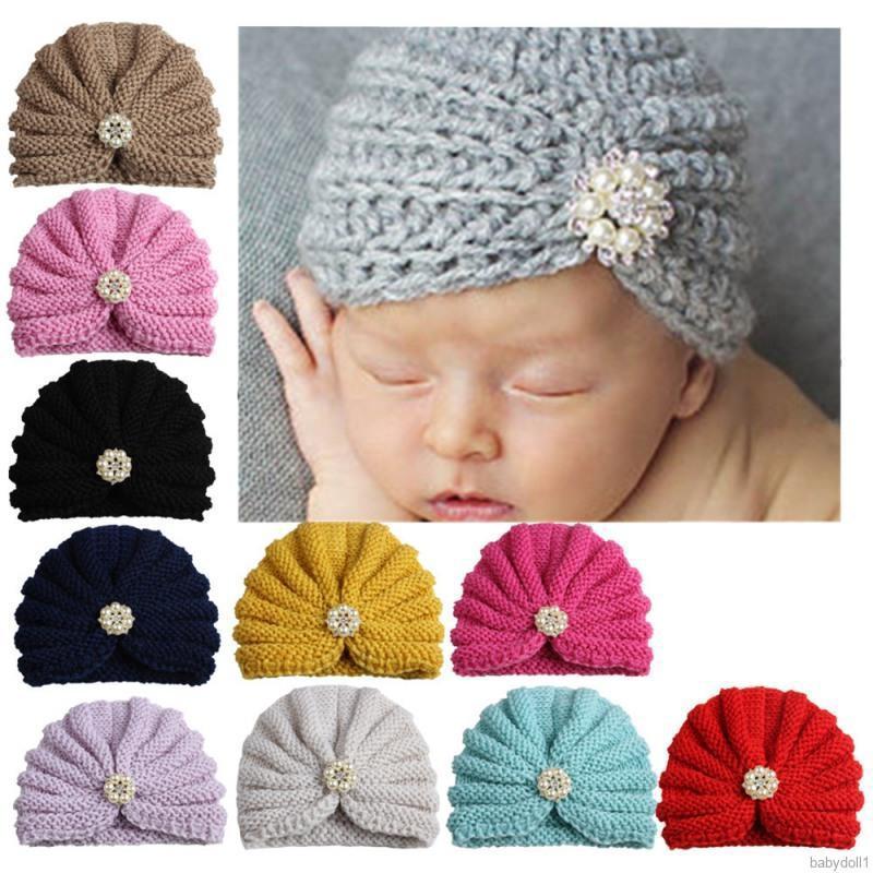 Indian Hat Knot Headwraps Beanie Baby Cap Children Headwear Newborn Turban